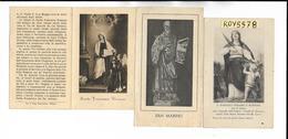 Santino Immagine Immagini Religiose Di Santini S.dorotea San Marino S. Francesca Romana (nr°3/v.retro Scritta Religiosa) - Religione & Esoterismo