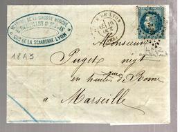 31656 - VERRERIE DE  LA GROSSE  MOUCHE - Postmark Collection (Covers)