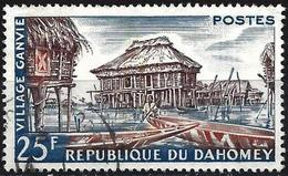 Dahomey 1960 - Mi 172 - YT 155 ( Ganvié Village ) - Benin – Dahomey (1960-...)