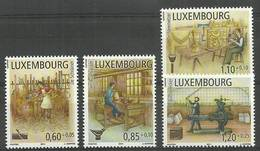 Luxembourg 2011 Mi 1919-1922 MNH ( ZE3 LXB1919-1922 ) - Métiers