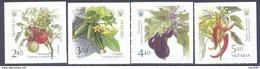 2016. Ukraine, Vegetables, Mich. 1572-75, 4v Self-adhesive, Mint/** - Ucraina