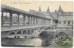 PARIS : VIADUC DU METROPOLITAIN - France