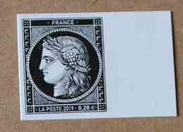 T5-D6 : Salon Philatélique 2019 - Cérès Non Dentelé 0.20 (1849 - 2019) - France
