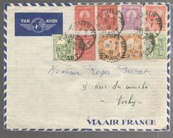31680 A - Par Avion Pour La France - Tunesien (1888-1955)