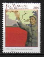 SAINT VINCENT  N° 3872  * *  Millennium Mao Tse Tung - Mao Tse-Tung
