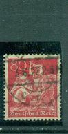 Deutsches Reich , Arbeiter, Nr. 186 Gestempelt BPP + Infla Geprüft - Oblitérés