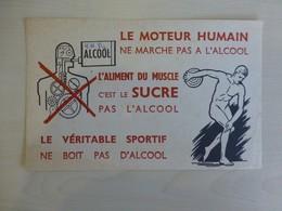 Athlétisme, Lancer De Disque, Lutte Anti-alcoolisme, Ref 1785 ; BU 02A - Sport