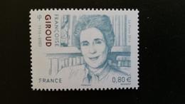 France Timbre NEUF N° 5079 - Année 2016 - Françoise Giroud - France