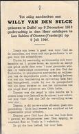 Duffel, Les Sables D'Olonne, 1940, Willy Van Den Bulck - Images Religieuses