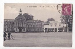 Carte Postale Louviers  Place Ernest Thorel - Louviers