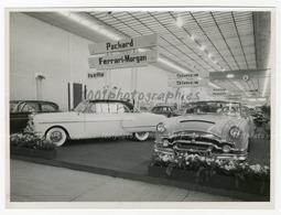 """Salon De L'auto 1954 ,  """"Packard, Ferrari-Morgan, Simca, Volvo, Nash"""" Tirage Original D'époque. FG0994 - Auto's"""