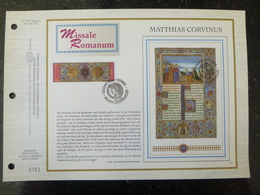 """BELG.1993 2492 : """" MISSALE ROMANUM """" Filatelistische Kaart Zijde NL.(CEF), Gelimiteerde Oplage - FDC"""
