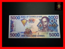 SIERRA LEONE 5.000 5000 Leones 1.2.2002 P. 27 A  UNC - Sierra Leone