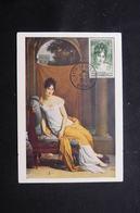 FRANCE - Carte Maximum En 1950 - Madame De Recamier - L 60445 - 1950-59