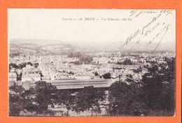X19076 BRIVE 19-Corrèze Vue Generale Côté Est 1917 De Marius BOUTET à Mireille Port-Vendre - Brive La Gaillarde