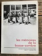Mémoires De La Basse-Sambre N°7 Glaceries Saint-Roch Auvelais Ermitage Onoz Charpentier Legrain Falisolle Arsimont - Belgique