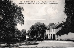 "VIROFLAY SYNDICAT D'INITIATIVE AVENUE DE VERSAILLES ,VUE PRISE ""LA CHAUMIERE""  REF 65729 - Viroflay"