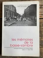 Mémoires De La Basse-Sambre N°6 Legrain Fontaine Onoz Falisolle Fonderie Gillot Winson Arsimont Auvelais Industrie Terre - Belgique
