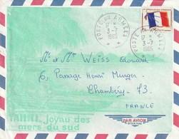Tahiti 1965 Poste Aux Armée - Tahití