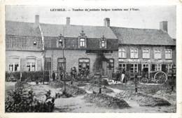 Belgique - 14/18 - Alveringem - Leisele - Leysele - Tombes De Soldats Belges Tombés Sur L' Yser - Alveringem