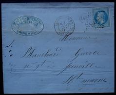 Grand (Vosges) Origine Rurale 27 Mai 1871 Marée Dutrone Fabrique De Clous Cad De Liffol-le-Grand Gc 2038 - 1849-1876: Classic Period