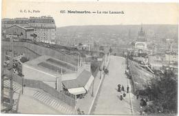 PARIS : MONTMARTRE - LA RUE LAMARCK - Other