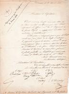 1831 BRIANCON - Lettre Au Capitaine Archiviste Des Régiments De L'ex-GARDE ROYALE Relative à M. PROST Adjudant - Documents Historiques