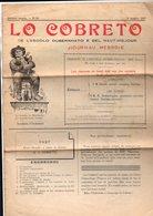 (Aveyron) Journal LO COBRETO (ecolo Del Naut Miejour) N°81,  1927 En Occitan (M0041) - Tourism