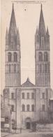 CARTE PANORAMIQUE DOUBLE  FORMAT CAEN L'ABBAYE AUX HOMMES  ACHAT IMMÉDIAT - Caen