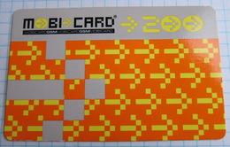 Kirgiziya. Moby Card. - Kyrgyzstan