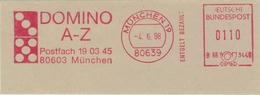 Domino A-Z 80603 80639 München Entgelt Bezahlt B663446 - [7] République Fédérale
