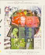 BELGIQUE - Bloc 92** - Le Tour Du 20e Siècle ( 3ème Partie ) - Valeur Faciale 8,40 € - Blocks & Sheetlets 1962-....