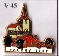V45 PIN'S  FERRARI ASA RHIN FOUCHY Alsace Qualité Arthus Signé Boussmart Achat Immédiat - Ferrari