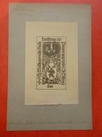 Ex-libris Illustré Allemagne Début XXème - WALDBAUER (libraire) - Ex-libris