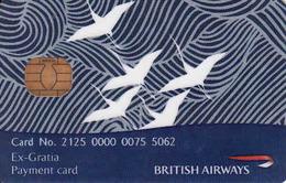 British Airways Chip Card, Payment Card - Moteurs
