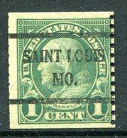 USA Precancel - Missouri - St Louis (see Description) - Precancels