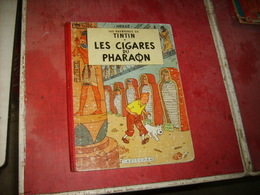Tintin  Les Cigares Du Pharaon  Cote 250 Euros   B15    (8) - Livres, BD, Revues