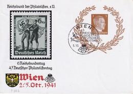 ALLEMAGNE   1941     ENTIER POSTAL/GANZSACHE/POSTAL STATIONARY CARTE ILLUSTREE DE WIEN - Germania