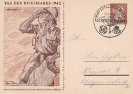 ALLEMAGNE   1942     ENTIER POSTAL/GANZSACHE/POSTAL STATIONARY CARTE ILLUSTREE DE WUPPERTAL - Germania