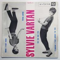 Sylvie Vartan, Baby C'est Vous : Vinyle EP 45  (1962) - Rock