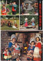 Lot De 2 Cartes De Bretagne - Costumes