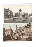 2 Cartes Monuments Aux Morts-aubers - France