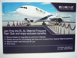 Avion / Airplane / EL AL / Boeing B 737 MAX / Airline Issue - 1946-....: Ere Moderne