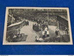 MILITARIA - BRUXELLES  - Messe Organisée Par L' U.F.A.C.  En 1944 à La Mémoire  Des Fusillés Au Tir National - Patriotiques