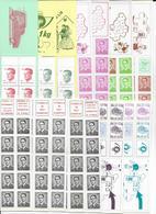 BELGIQUE - SUPERBE ENSEMBLE De 43 CARNETS COMPLETS Avec COMBINAISONS VARIABLES - ** MNH - FACIALE > 25 EUR. (1040 FB) - Carnets 1953-....