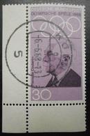 94 Allemagne Jeux Olympiques 1968 Pierre De Coubertin - Stamps