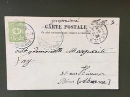 Carte Postale , Oblitération MAKRI-KEUÏ-21/05/1904 - 1858-1921 Empire Ottoman