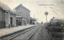 Belgique - Espierres-Helchin - Espierres - Vue De La Gare - Espierres-Helchin - Spiere-Helkijn