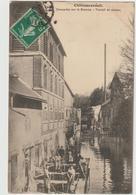 CHATEAURENAULT.  Tanneries Sur La Brenne. - Travail De Rivière - France