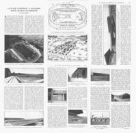 LE STADE De ( COLOMBES ) CONSTRUIT Pour Les JEUX OLYMPIQUES  1924 - Sports